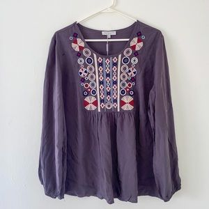NWT Solitaire boho blouse
